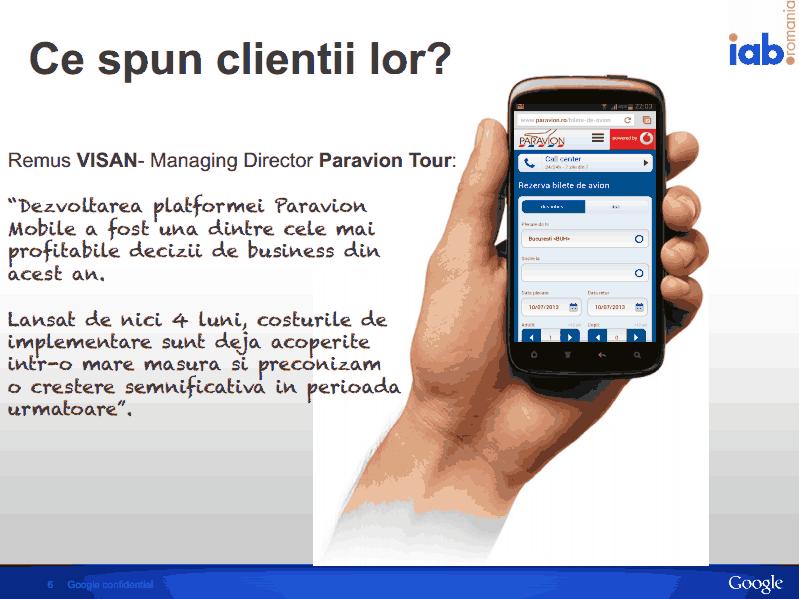 start mobile, google, remus visan, paravion