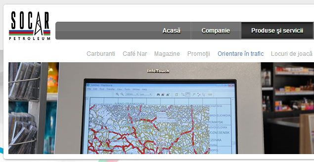 SOCAR, trafic, info-chiosc, InfoTouch Systems