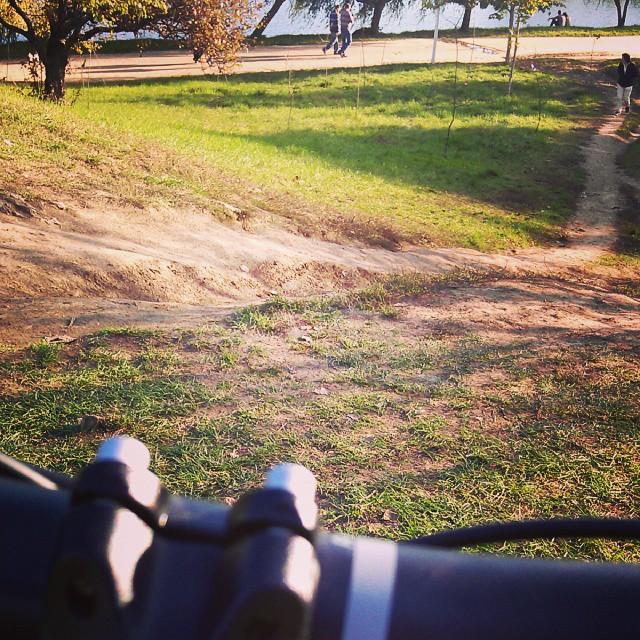 bicicleta, parcul tineretului