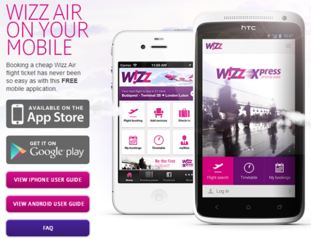 Wizz Air, Android