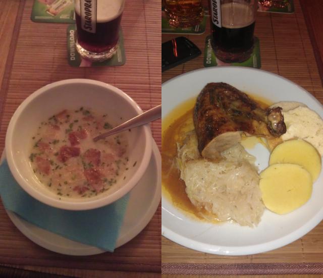 supa, usturoi, rata, varza
