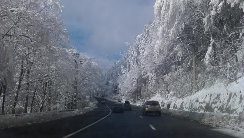 E60, DN1, prahova, iarna