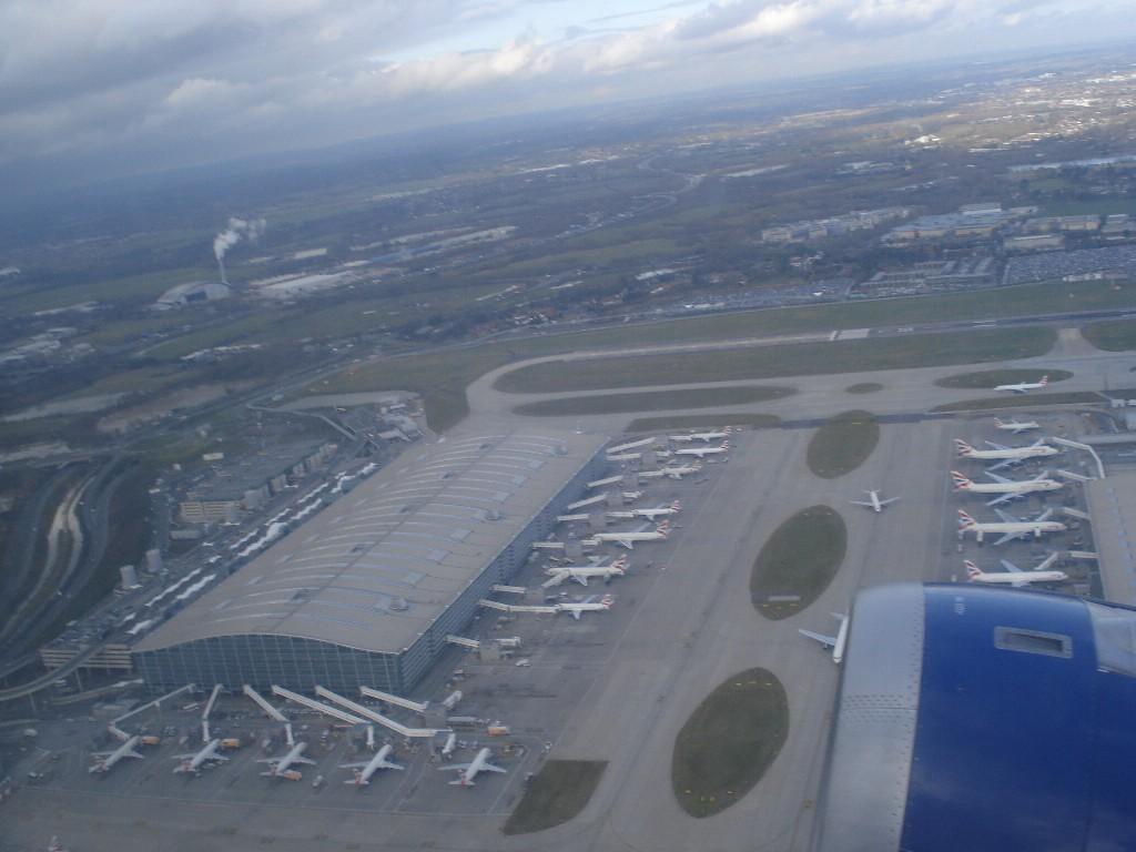 Terminal 5, Londra, British Airways