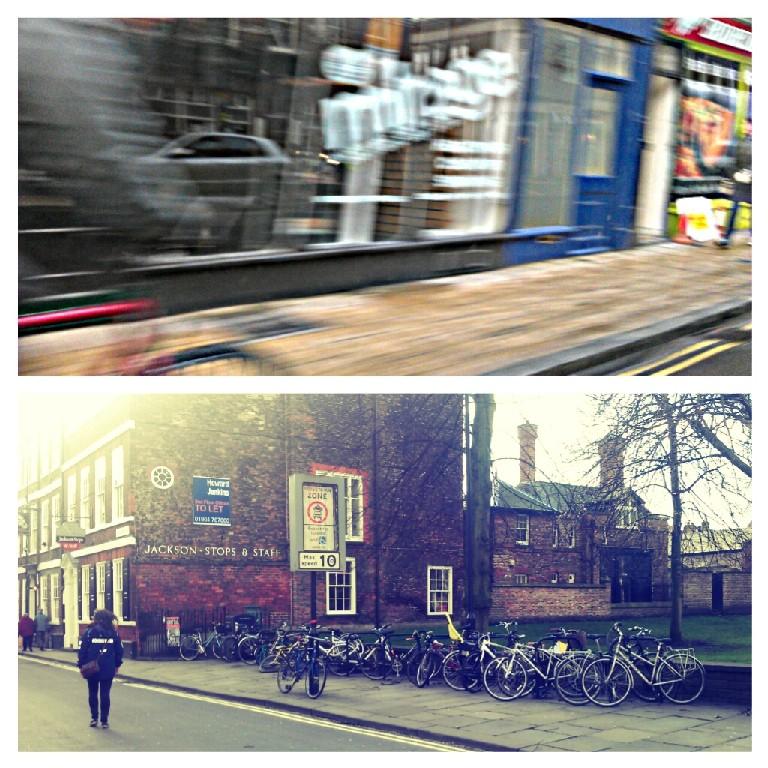 York, biking, cycling