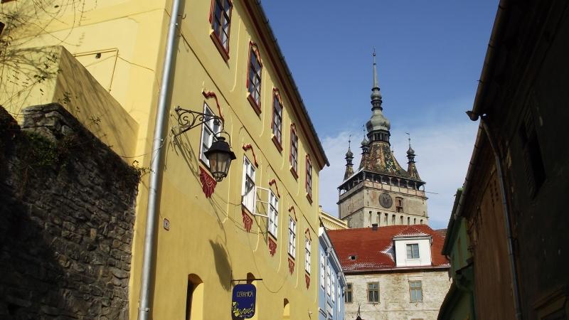 sighisoara, turnul cu ceas