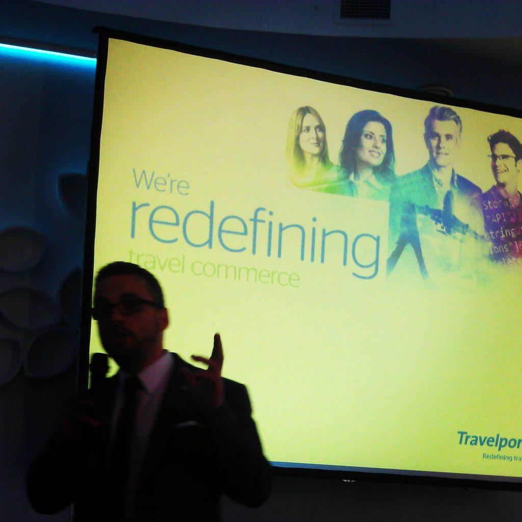 travelport, redefining travel commerce, branding