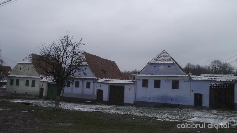 Case săsești în Viscri