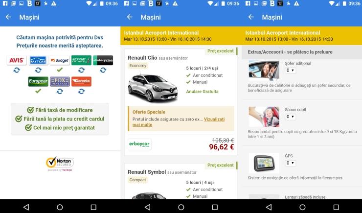 esky.ro, rentalcars.com, rent-a-car, inchirieri masini