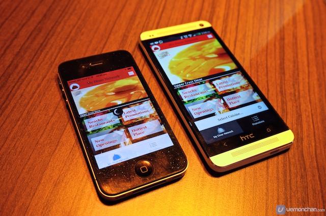 Vernon Chan, My Diner Network, aplicatie mobila