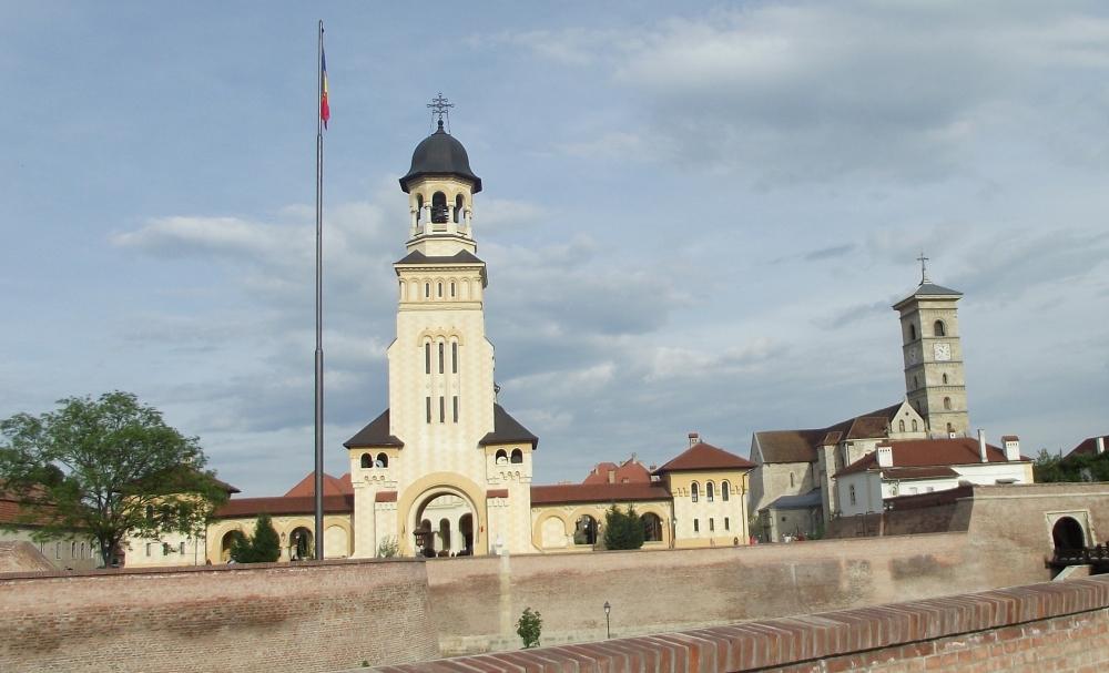 alba Iulia, Alba Carolina, turnul catedralei ortodoxe