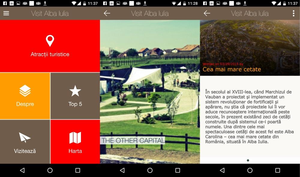 Aplicatia Visit Alba Iulia