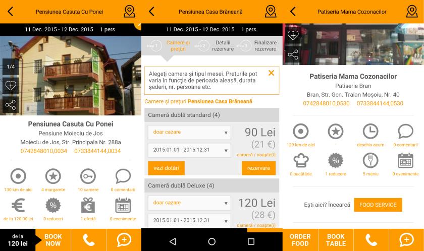 Visit Bran Travel App, Booking, rezervare online