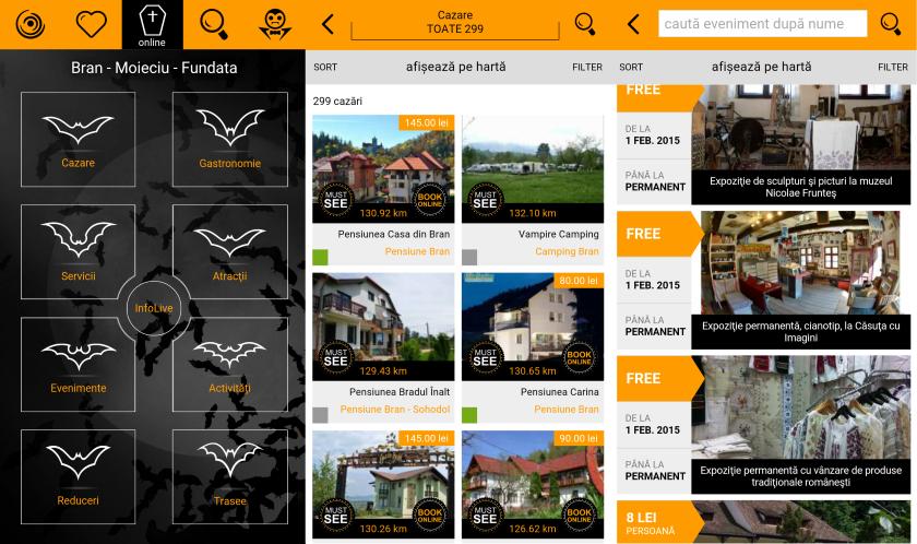 Visit Bran Travel App, Asociatia Bran-Moieciu-Fundata