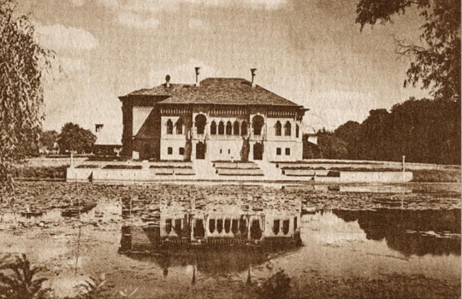 58. Palatul si Lacul Mogosoaia