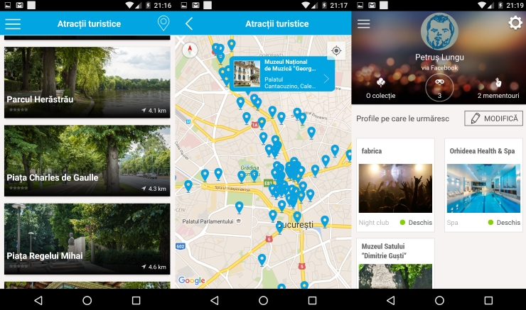 Bucharest City App, eventur group, eventya