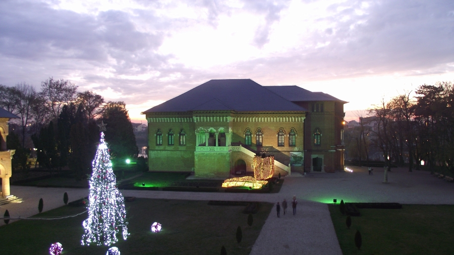 Palatul Mogosoaia, Ansamblul Brancovenesc