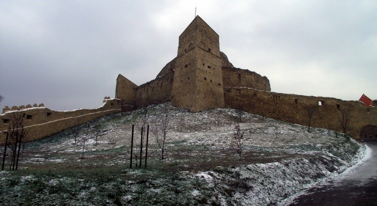 Cetatea Rupea de pe Dealul Cohalmului