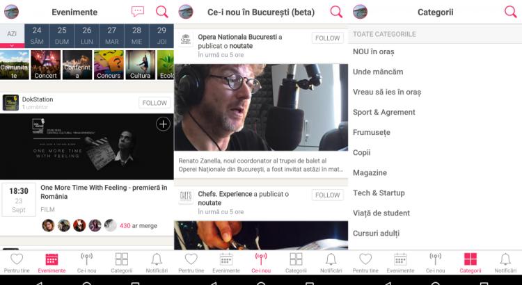Urby App, Eventya