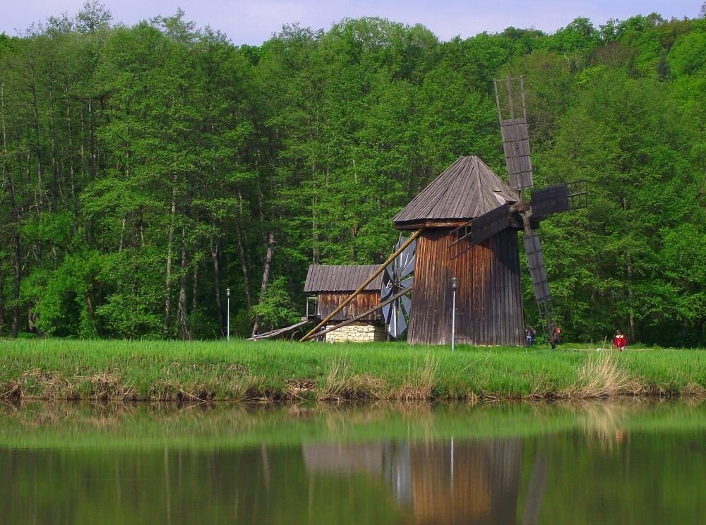 Moara de vant, Muzeul ASTRA, Dumbrava Sibiului
