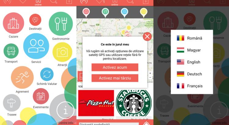 Aplicatie mobila, aplicatie mobila turism, Cluj Tourism, Consiliul Judetean Cluj