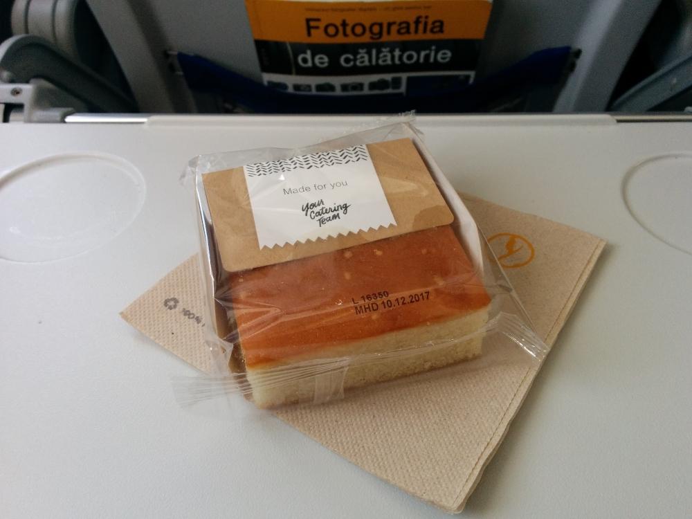 Lufthansa, mic dejun