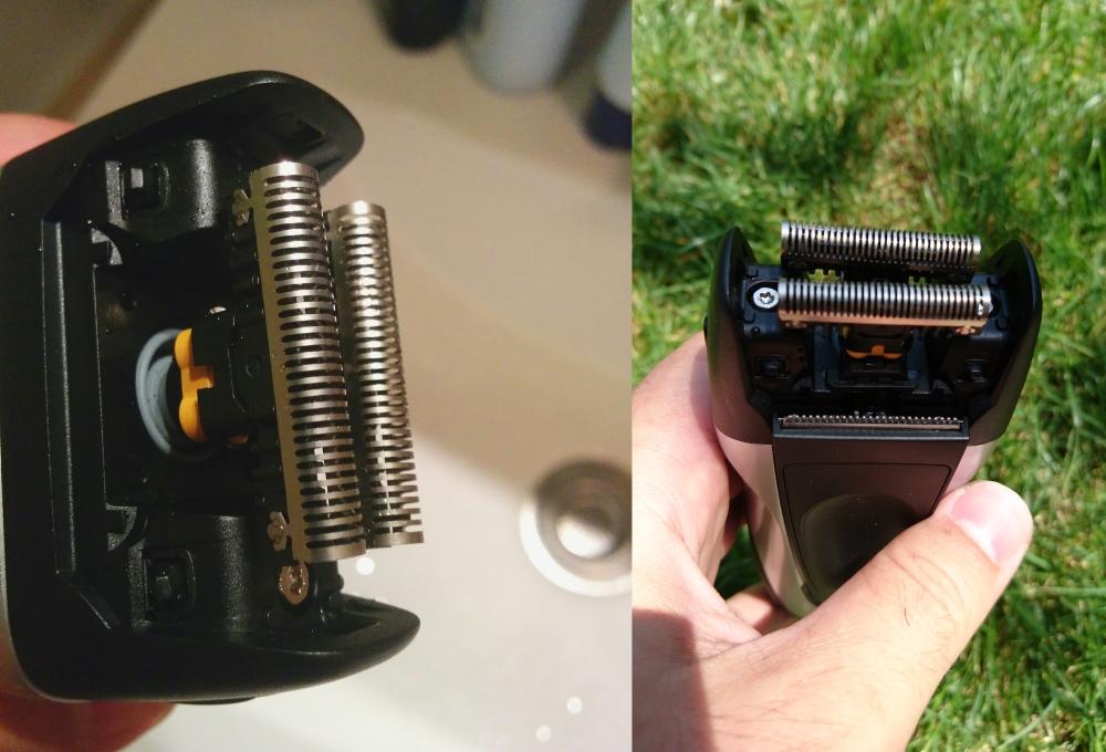 braun, series 1, 197s-1, lame de ras, aparat de ras cu sita, aparat de ras electric