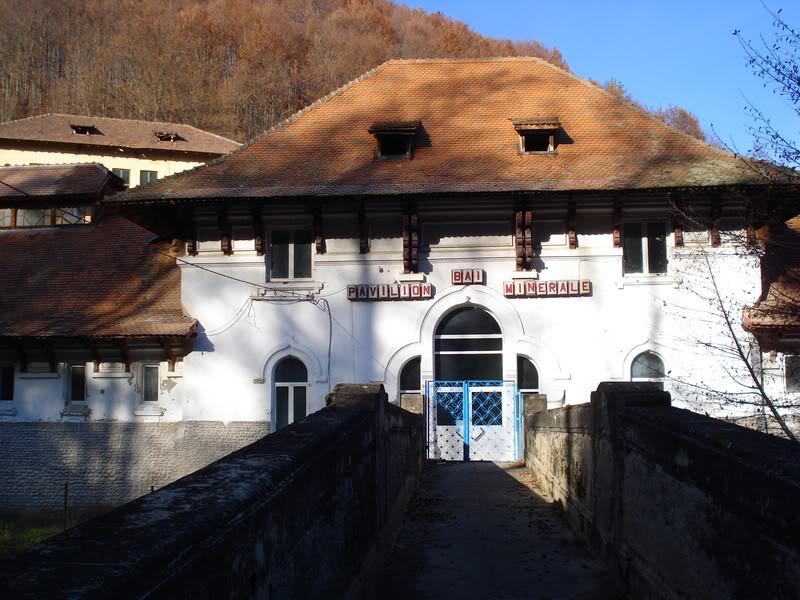 centrul de bai minerale, olanesti