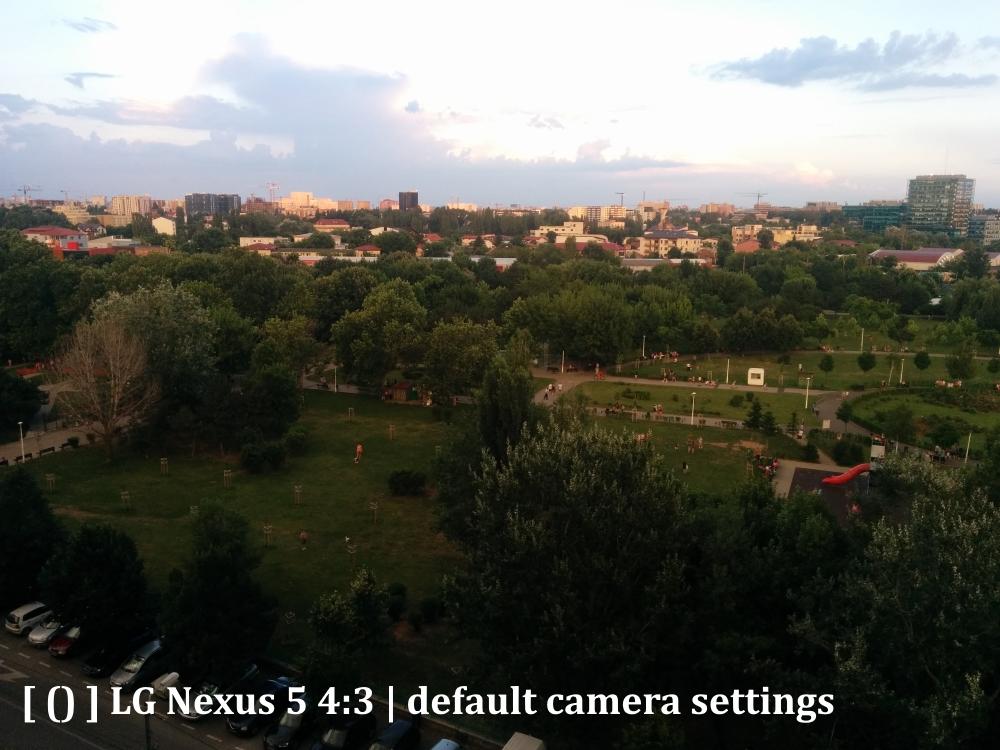nexus 5, apus, parc