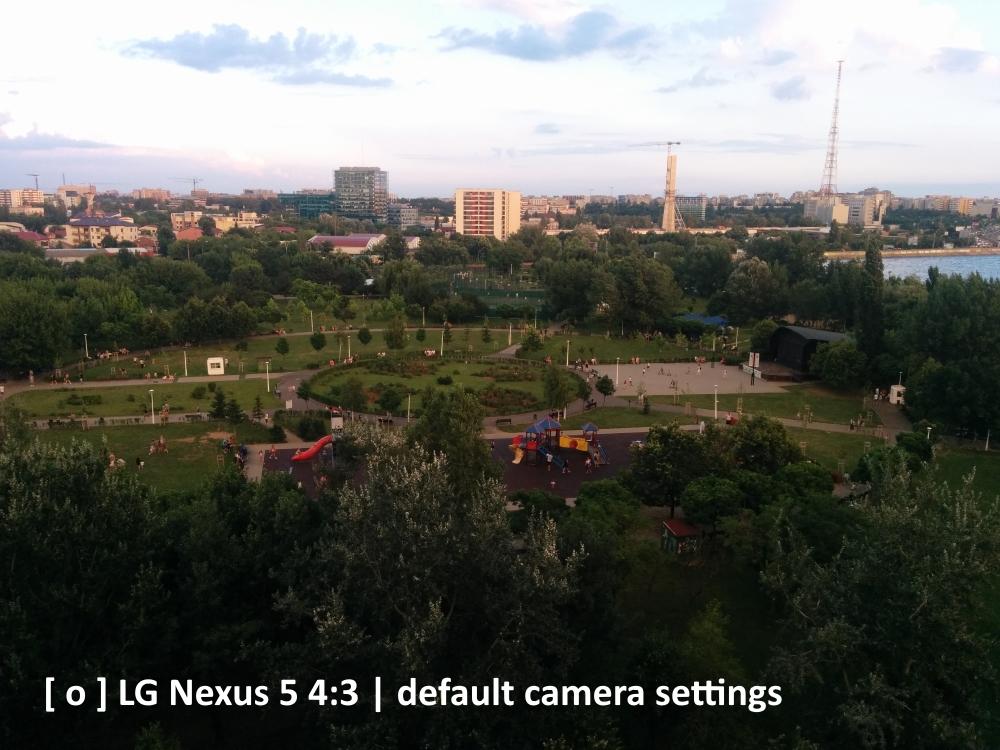 LG Nexus 5, apus, parc, lac