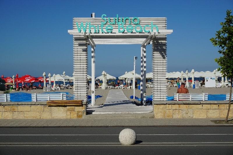 hotel sulina, plaja sulina white beach