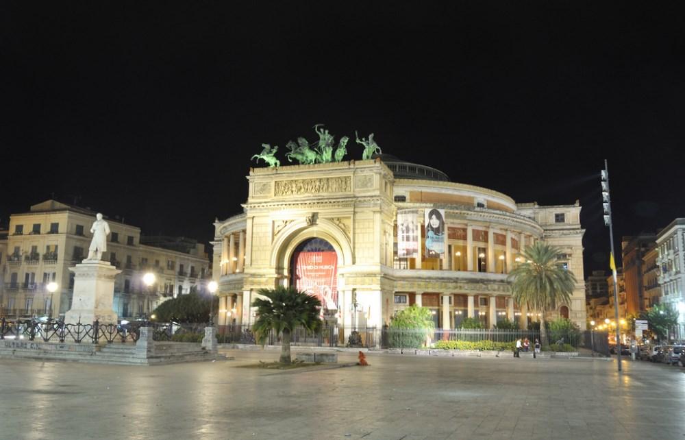 Teatro Politeama, Palermo, Italy
