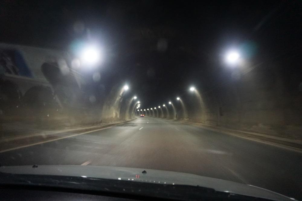tunel, grecia, corfu, egnatia odos