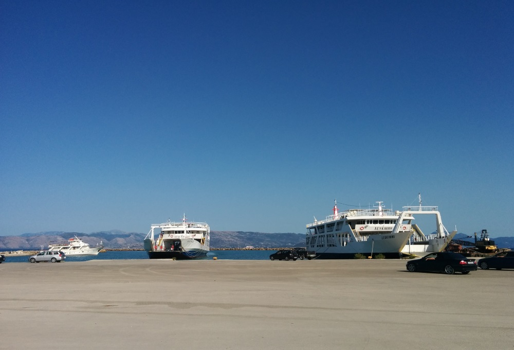 Feribot, Igoumenitsa, Corfu