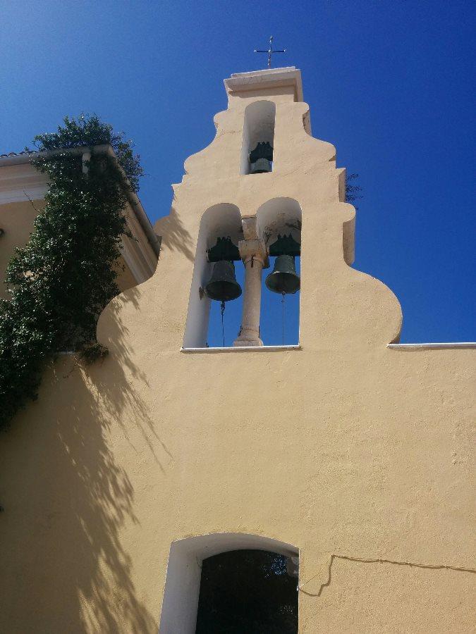 manastire, paleokastritsa, corfu, grecia