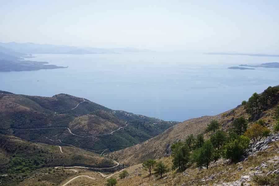pantokrator, corfu, grecia