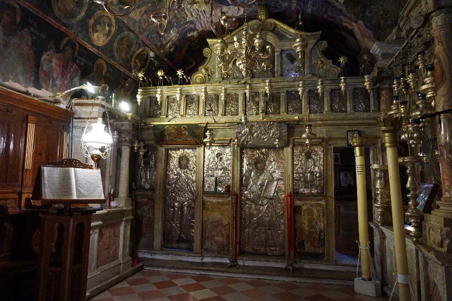manastire, pantokrator, corfu, grecia