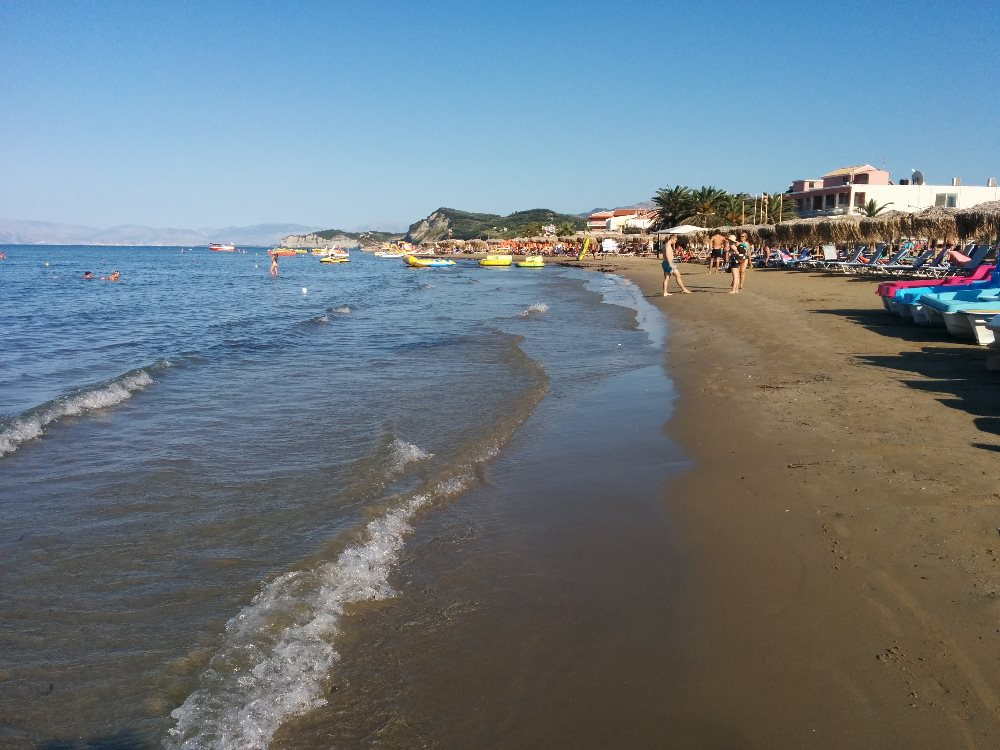 plaja, corfu, sidari, grecia