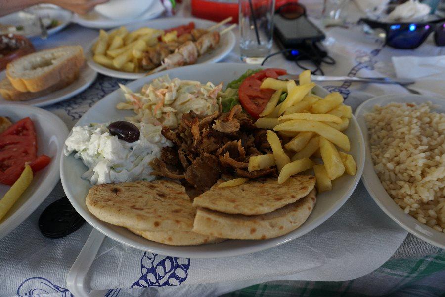 kebab, sidari, three little pigs