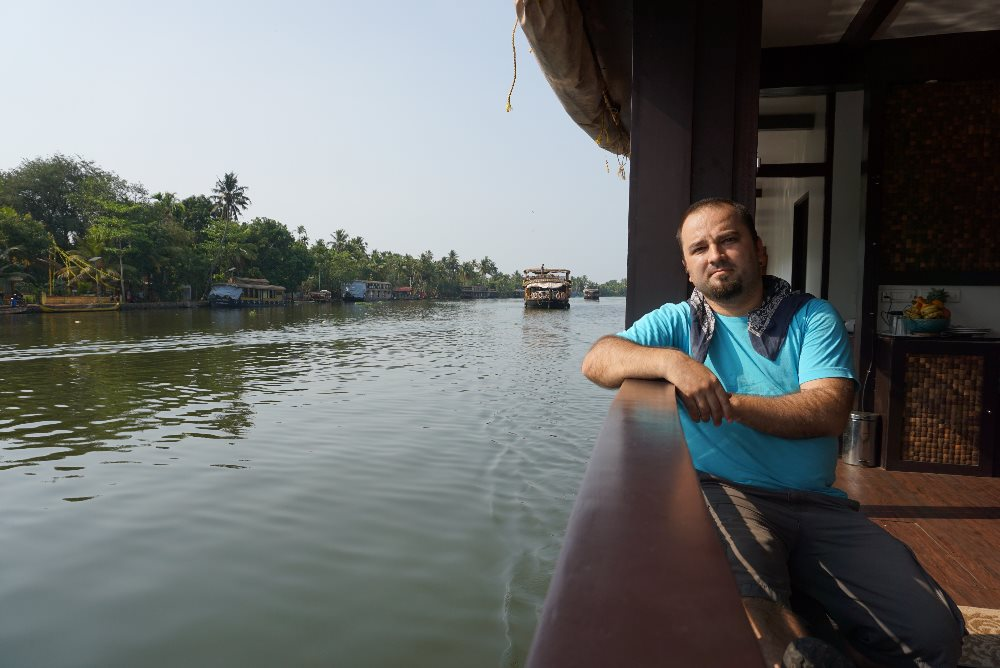 kerala, backwaters, houseboat