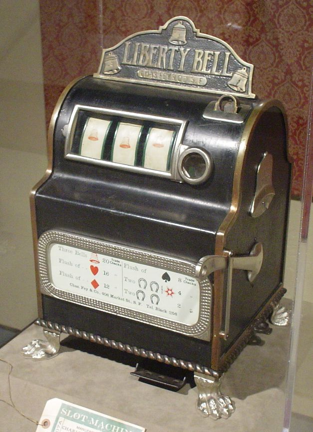Charles Fay, slot machine, jocuri mecanice, Liberty Bell