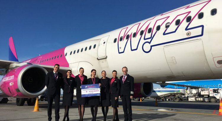 Zboruri Wizz Air, zboruri Kutaisi