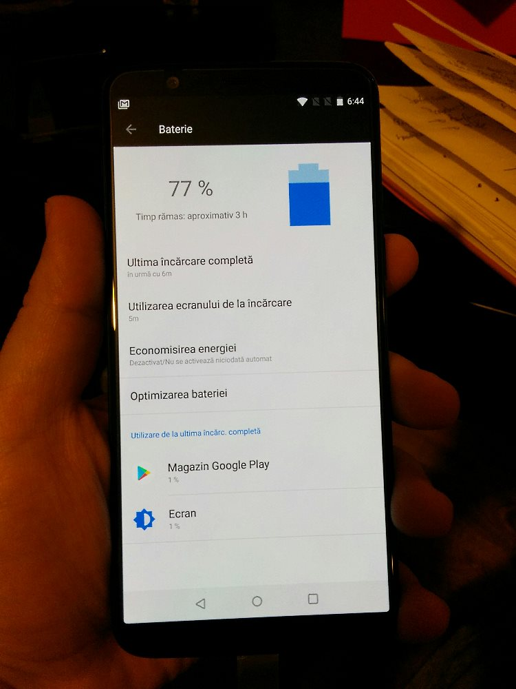 OnePlus 5T, battery