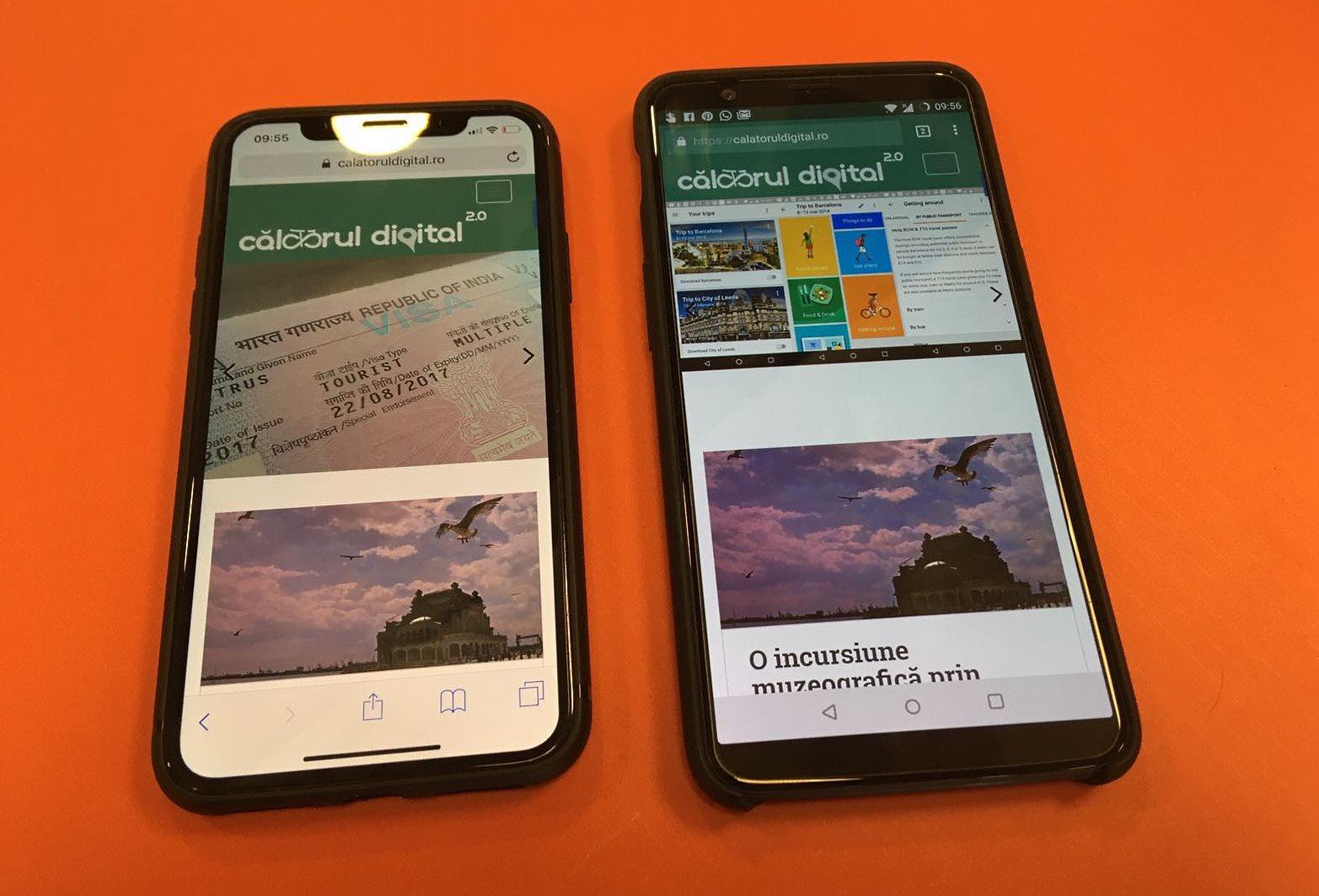 OnePlus 5T vs. iPhone X