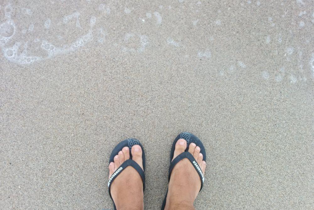 papuci plaja, flip flops, Quicksilver