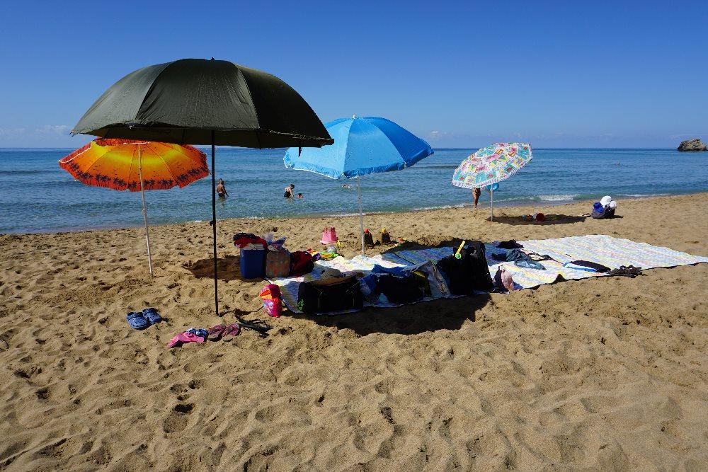 Umbrelă plajă