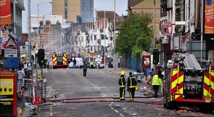 George Rex, London Riots, Croydon
