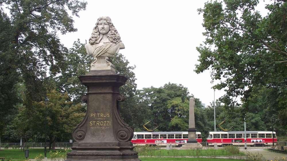 petrus strozzi statue, praga