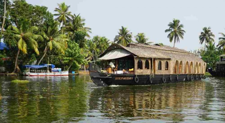 houseboat, kerala, kerala backwaters, delta, rauri, india, lac, barca, ambarcatiune