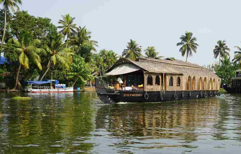 houseboat, kerala, kerala backwaters, delta, rauri, india, lac, barca, ambarcatiune