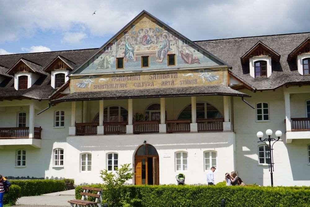 Manastirea Brancoveanu, Manastirea Sambata de Sus